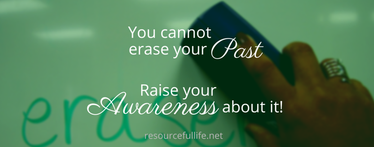 You Cannot Erase Your Past.- canva